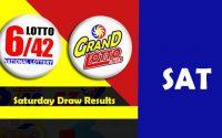 saturday lotto result